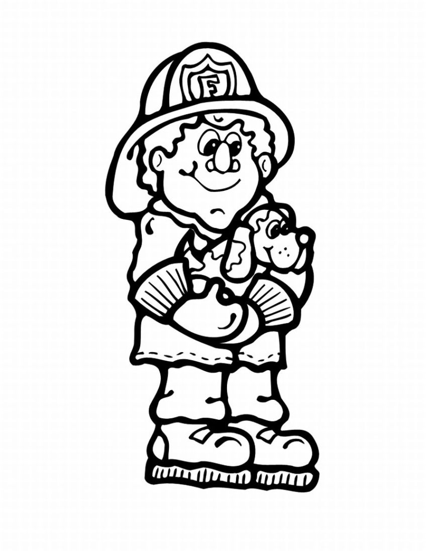 Kids Coloring Pages – Random Lake Fire Department